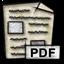pdf, mime, application, gnome icon