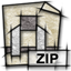 application, mime, gnome, zip icon