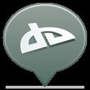 Balloon, Deviantart, Social icon