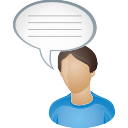 Comment, User icon