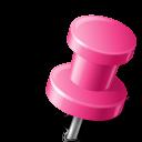 mono, right, map, base, sticker, pink, push, super, marker, pin icon