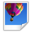 photo, balloon, picture, poloroid, image icon