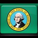 washington, flag icon