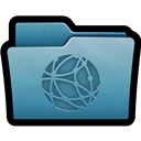 Folder, Mac, Server icon