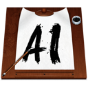 illustrator, file, ai, document icon