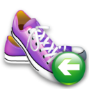 shoes,back,left icon