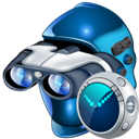 search, clock, secure icon
