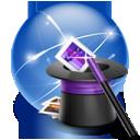 wizard, hat, connection, internet, groupwarewizard icon