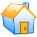 home,yellow,building icon