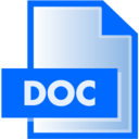 doc,file,extension icon