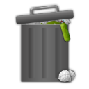 trash, full icon