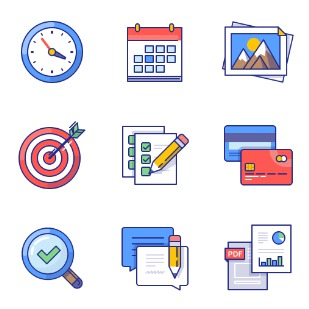 xomo: basics icon sets preview